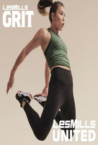 [Hot Sale]Les Mills Q3 2020 GRIT ATHLETIC AT UNITE DVD,CD&Notes