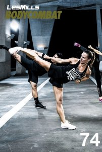 Les Mills BODY COMBAT 74 Complete DVD, CD and Notes