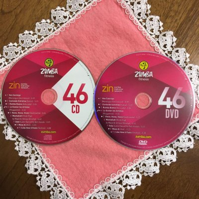 [Hot Sale]2018 New dance courses ZIN ZUMBA 46 HD DVD+CD