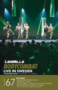 Les Mills BODY COMBAT 67 Complete DVD, CD and Notes