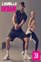 LesMills SH BAM 38 New Release 38 DVD, CD & Notes