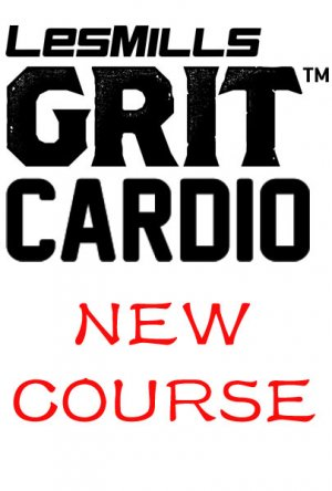 Les Mills GRIT Cardio 32 New Release CA32 DVD, CD & Notes