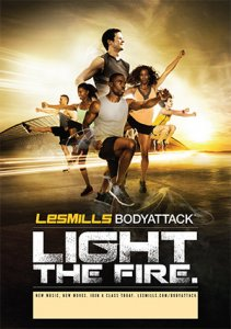 LESMILL BODY ATTACK 81 VIDEO+MUSIC+NOTES