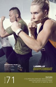Les Mills BODY COMBAT 71 Complete DVD, CD and Notes