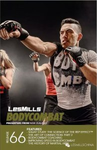 Les Mills BODY COMBAT 66 Complete DVD, CD and Notes