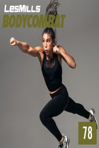 Les Mills BODY COMBAT 78 Complete DVD, CD and Notes