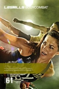 Les Mills BODY COMBAT 61 Complete DVD, CD and Notes