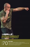 Les Mills BODY COMBAT 70 Complete DVD, CD and Notes
