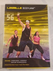 LES MILLS BODY JAM 56, COMPLETE W/ DVD, CD & BOOKLET. FREE SHIP