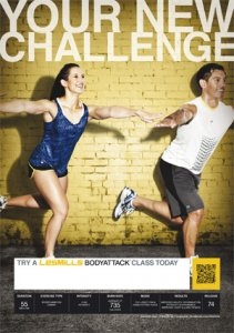 LESMILL BODY ATTACK 74 VIDEO+MUSIC+NOTES