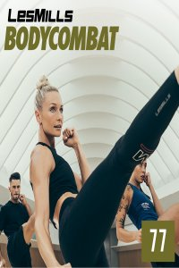 Les Mills BODY COMBAT 77 Complete DVD, CD and Notes