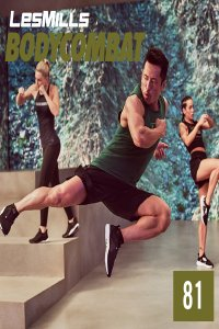 Les Mills BODY COMBAT 81 Complete DVD, CD and Notes