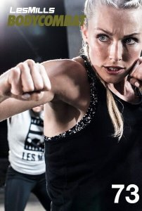 Les Mills BODY COMBAT 73 Complete DVD, CD and Notes
