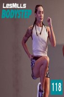 LesMills Routines BODY STEP 118 New Release BS118 DVD,CD&Notes
