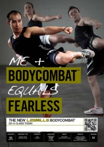 Les Mills BODY COMBAT 51 Complete DVD, CD and Notes