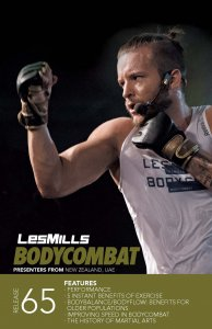 Les Mills BODY COMBAT 65 Complete DVD, CD and Notes