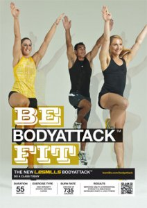 LESMILL BODY ATTACK 77 VIDEO+MUSIC+NOTES