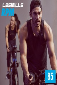 [Hot Sale]LesMills RPM 85 New Release 85 DVD, CD & Notes