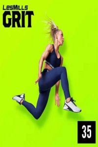 [Hot Sale]2021 Q1 Les Mills GRIT ATHLETIC 35 New DVD, CD,Notes