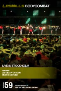 Les Mills BODY COMBAT 59 Complete DVD, CD and Notes