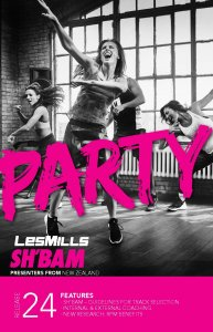 LESMILLS SHBAM 24 VIDEO+MUSIC+NOTES