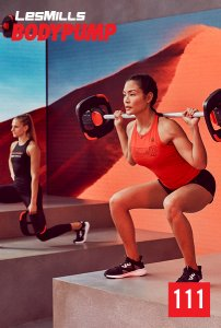 Les Mills BODY PUMP 111 VIDEO+MUSIC+NOTES
