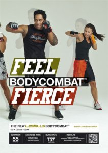 Les Mills BODY COMBAT 52 Complete DVD, CD and Notes