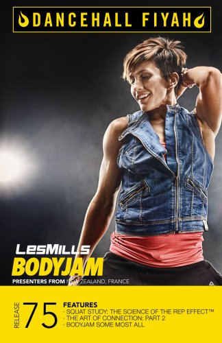 LesMills Routines BODY JAM 75 DVD + CD + NOTES
