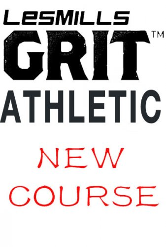 [Pre Sale]2021 Q2 Les Mills GRIT ATHLETIC 36 New DVD, CD,Notes