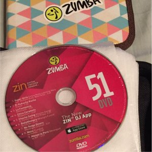 [Hot Sale]2018 New dance courses ZIN ZUMBA 51 HD DVD+CD