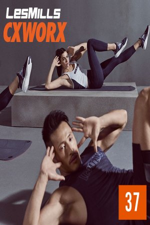 [Hot Sale]Les Mills CXWORX 37 New Release DVD, CD & Notes