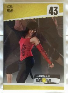 LES MILLS BODY JAM 43, COMPLETE w/ DVD, CD. FREE SHIPP