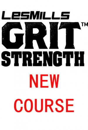 Les Mills GRIT Strength 32 New Release ST32 DVD, CD & Notes