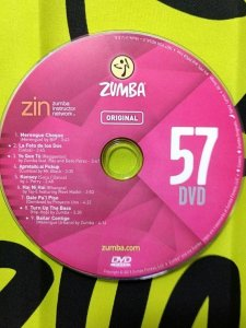 [Hot Sale]2018 New dance courses ZIN ZUMBA 57 HD DVD+CD