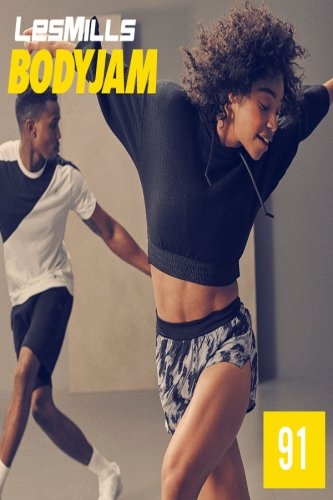 [Hot order]Les Mills BODY JAM 91 VIDEO+MUSIC+NOTES