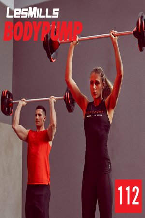 LesMills BODY PUMP 112 New Release BP112 DVD, CD & Notes