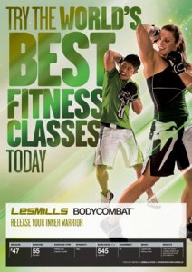 Les Mills BODY COMBAT 47 Complete DVD, CD and Notes