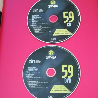 [Hot Sale]2018 New dance courses ZIN ZUMBA 59 HD DVD+CD