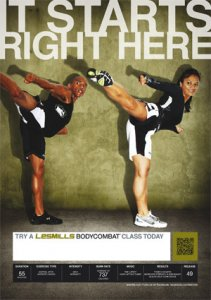 Les Mills BODY COMBAT 49 Complete DVD, CD and Notes