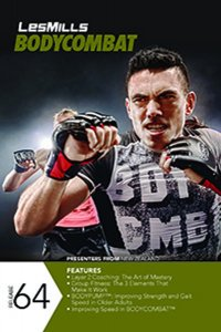 Les Mills BODY COMBAT 64 Complete DVD, CD and Notes