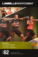 Les Mills BODY COMBAT 62 Complete DVD, CD and Notes