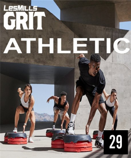 GRIT PLYO/ATHLETIC 29 VIDEO+MUSIC+NOTES|0AT29D-C|GRIT Plyo™