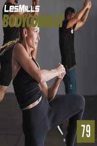 Les Mills BODY COMBAT 79 Complete DVD, CD and Notes