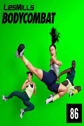 [Hot sale]2021 Q1 Les Mills BODY COMBAT 86 DVD,CD,Notes