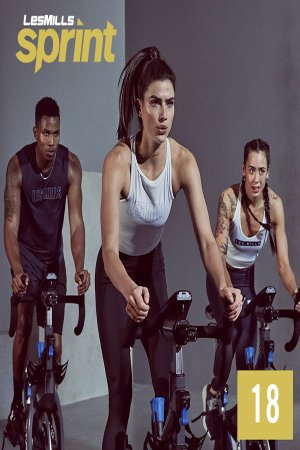 Les Mills Routines SPRINT 18 New Release 18 DVD, CD & Notes