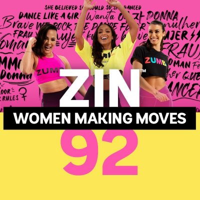 [Hot Sale]2021 New dance courses ZIN ZUMBA 92 HD DVD+CD