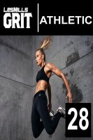 GRIT PLYO/ATHLETIC 28 VIDEO+MUSIC+NOTES