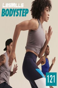 Hot Sale]2020 Q4 LesMills BODY STEP 121 New Release DVD,CD&Notes