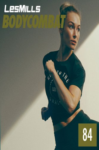 [Hot sale] Les Mills BODY COMBAT 84 Complete DVD, CD ,Notes