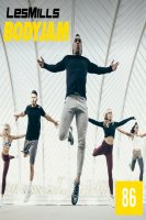 LesMills Routines BODY JAM 86 DVD + CD + NOTES